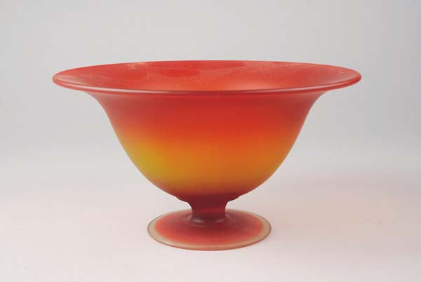 amberina glass bowl