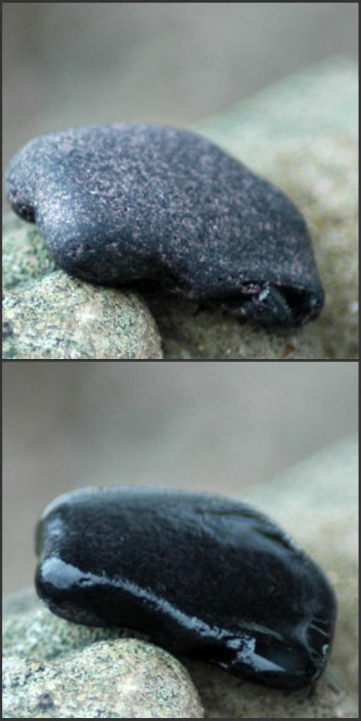 black sea glass
