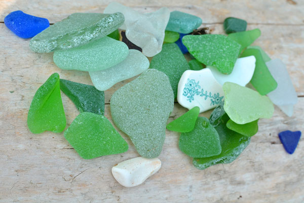 sea-glass lake erie